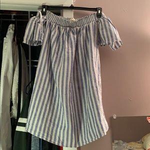 Cynthia Rowley strapless summer time dress